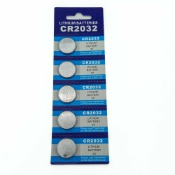JNKXIXI CR2032 BR2032 DL2032 ECR2032 CR 2032 3V lithium button battery 5pcs