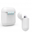 Apple AirPods earphones soft silicone ultra thin cover case