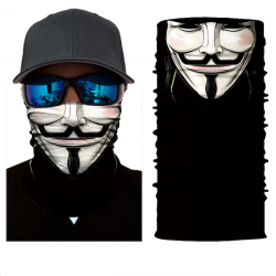 Motorcycle scarf face mask balaclava