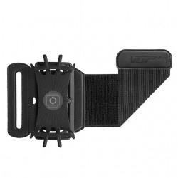 iPhone 4 - 5.5 inch180 degree rotatable jogging phone holder wristband belt strap