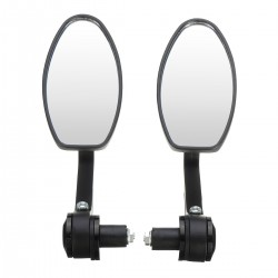 "Universal 7/8"" motorcycle aluminum rear view mirror 2 pcs"