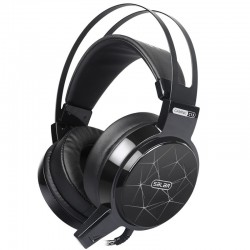 C13 LED gaming headset koptelefoon met microfoon & led