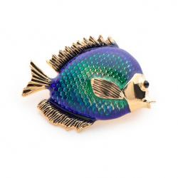 Bluefish Brosche für Damen