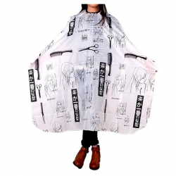 Hair cutting gown cape