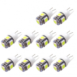 T10 5SMD 5050 W5W Xenon LED bulb 10 pcs