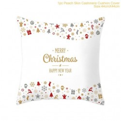 Christmas pillowcase cushion cover cashmere 44 * 44 cm