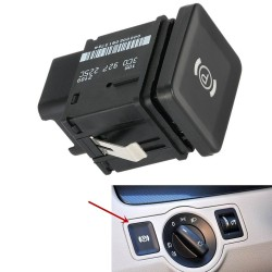 Volkswagen Passat R36 CC Handbremsschalterknopf