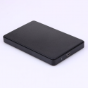 2.5 enclosure USB 2.0 external SATA to HDD case with USB cable