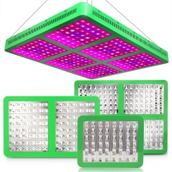 300W 600W 1200W 1800W LED plant grow light & double switch full spectrum hydroponic