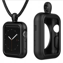 Apple Watch 1/2/3/4 series Silikonhülle Halskette