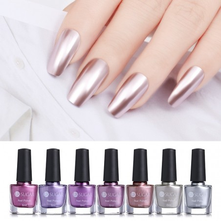 Mirror effect metallic nail polish 6 ml