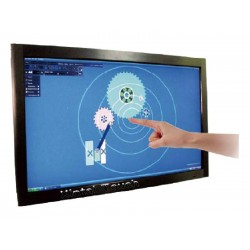 """55"""" real 4 points USB multi touch screen"""