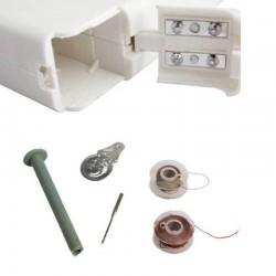 Mini portable handheld sewing machine
