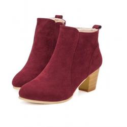 Women's nubuck ankle boots