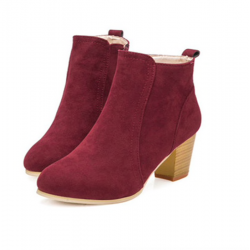 Women's nubuck ankle boots