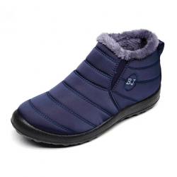 Men's anti-skid warm ankle boots waterproof