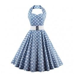 Plus size vintage retro dress