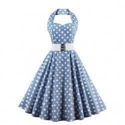 Plus size vintage retro dress