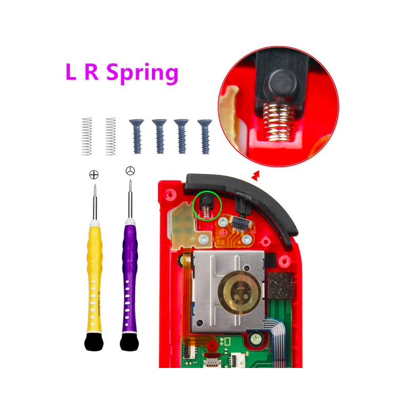 Nintendo Switch NS Joy Con controller L & R spring