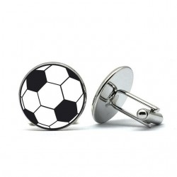 Football glamour cufflinks