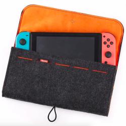 Nintendo Switch Wolle Schutzhülle