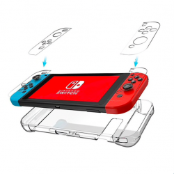 Nintendo Switch ultra thin transparent back cover case