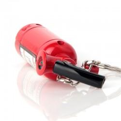 Fire extinguisher fire lighter keychain keyring
