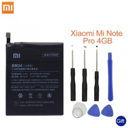 Xiaomi Mi Note Pro 4GB RAM original 3010mAh battery BM34
