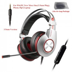 XIBERIA K5 USB 7.1 noise-cancelling 3.5mm gaming headphones with microphone headset