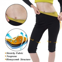 Sauna effect - fitness thermo slimming pants - leggings