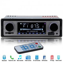 Bluetooth autoradio din 1 - 12 v FM MP3 USB SD AUX stereo-audio