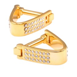 Luxury gold & silver cufflinks