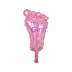Baby boy & girl foil balloon