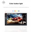 Bluetooth 7'' inch Din 2 LCD Touch Screen Car Radio Player