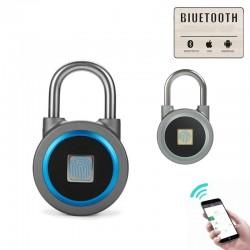 Smart Keyless Entry Fingerabdruck wasserdichtes Schloss Vorhängeschloss für Android iOS-System