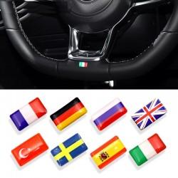 3D national emblem car sticker 8 pcs
