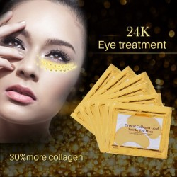 Golden crystal collagen eye mask patches 10 pieces
