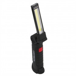 COB LED zaklamp - USB oplaadbaar - met ophanghaak