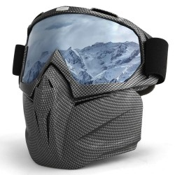 Skiing snowboard goggles - full face mask