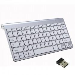 Draadloos toetsenbord met muis / USB-ontvanger 2.4G