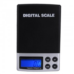 Digital precision scale pocket size 1000g Max / 0.1g
