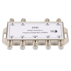 8 in 1 - Satellitensignal - DiSEqC-Schalter