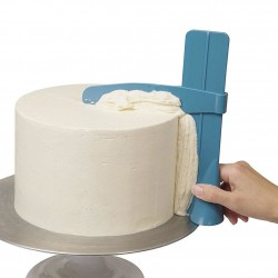 Adjustable spatula - cream cake smoothing