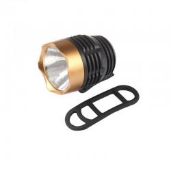 Q5 LED - 3 Modi - Fahrradfrontlampe - wasserdicht - eingebauter Akku