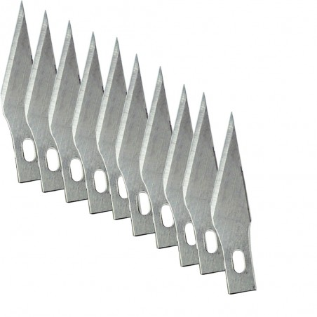 Wood carving blades - engraving knifes 10 pcs