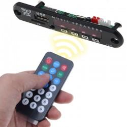Verwonderend Draadloze FM-ontvanger - 5V 12V auto MP3-speler - audiomodule radio... QM-21
