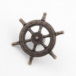 Roer stuur - antieke knop - handgreep voor meubels - 54 mm