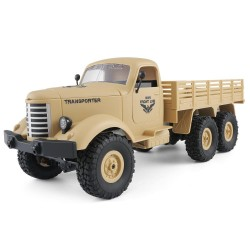 JJRC Q60 1/16 2.4G 6WD Off-Road military truck crawler - RC car