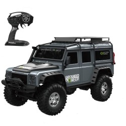 HB Toys ZP1001 1/10 2.4G 4WD RC Rally Car - proportional control - retro vehicle - LED light - RTR model