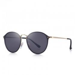 Retro oval sunglasses - UV protection - unisex